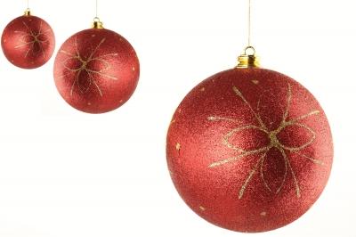 3 Bolas rojas de Navidad. Luigi Diamanti/Freedigitalphotos.net