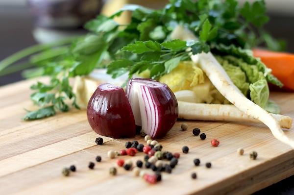 Verduras-alimentación saludable