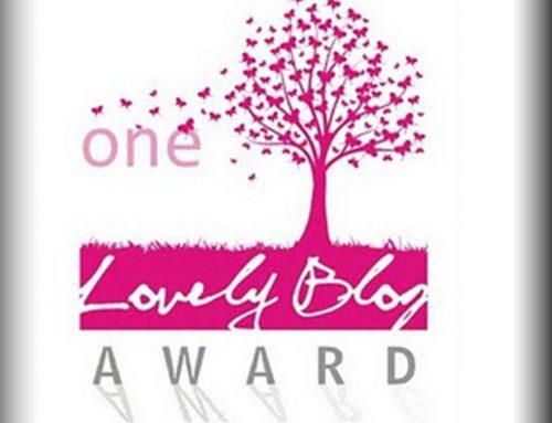 Nominación a One Lovely Blog Award
