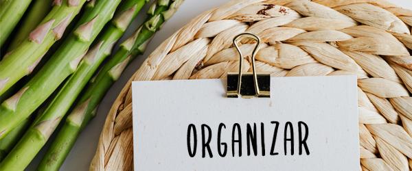 Organizar alimentación saludable.